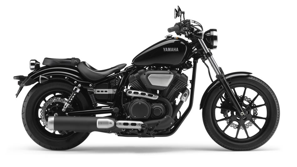 Yamaha Midnight-Black Motorcycle and scooter rentals in Málaga (Spain)