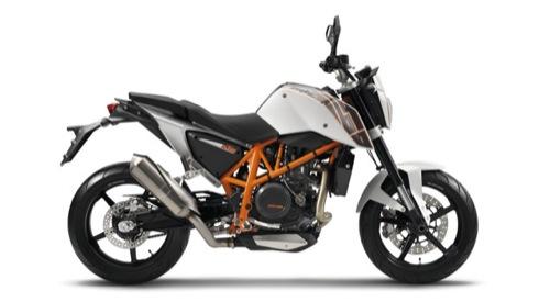 KTM Duke 690 Motorcykel- og scooterudlejning i Milano (Italien)