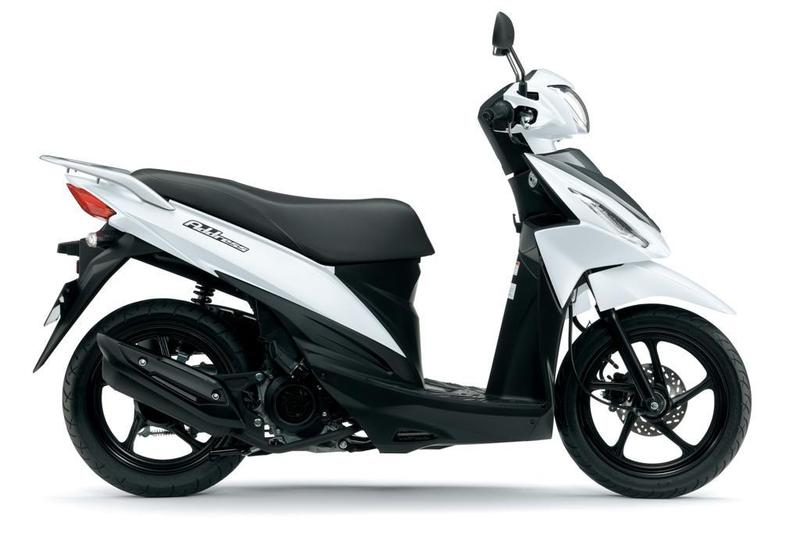Suzuki New Address 125 Motorcycle and scooter rentals in Barcelona (Spain)