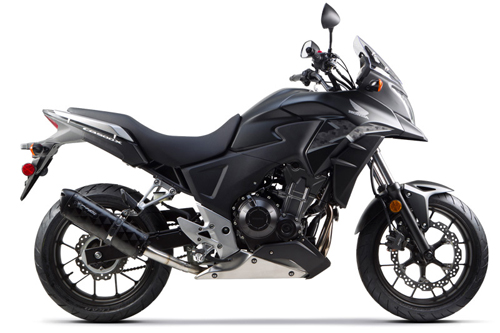 Honda CB 500 X Motorcycle and scooter rentals in Fuerteventura (Spain - Canary Islands)