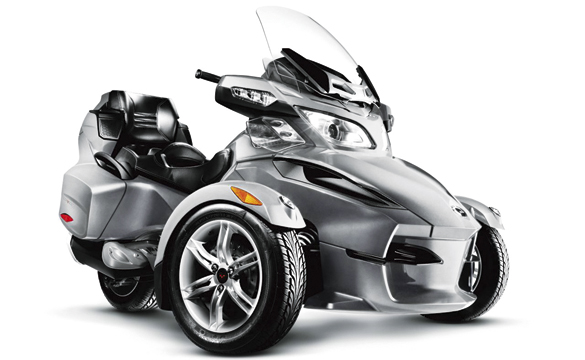Can Am Can-Am Spyder RS Motorcycle and scooter rentals in Madrid (Spain)