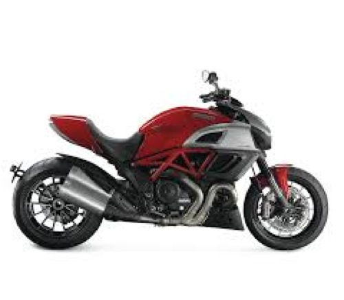 Ducati Diavel Motorcycle and scooter rentals in Bologna (Italy)