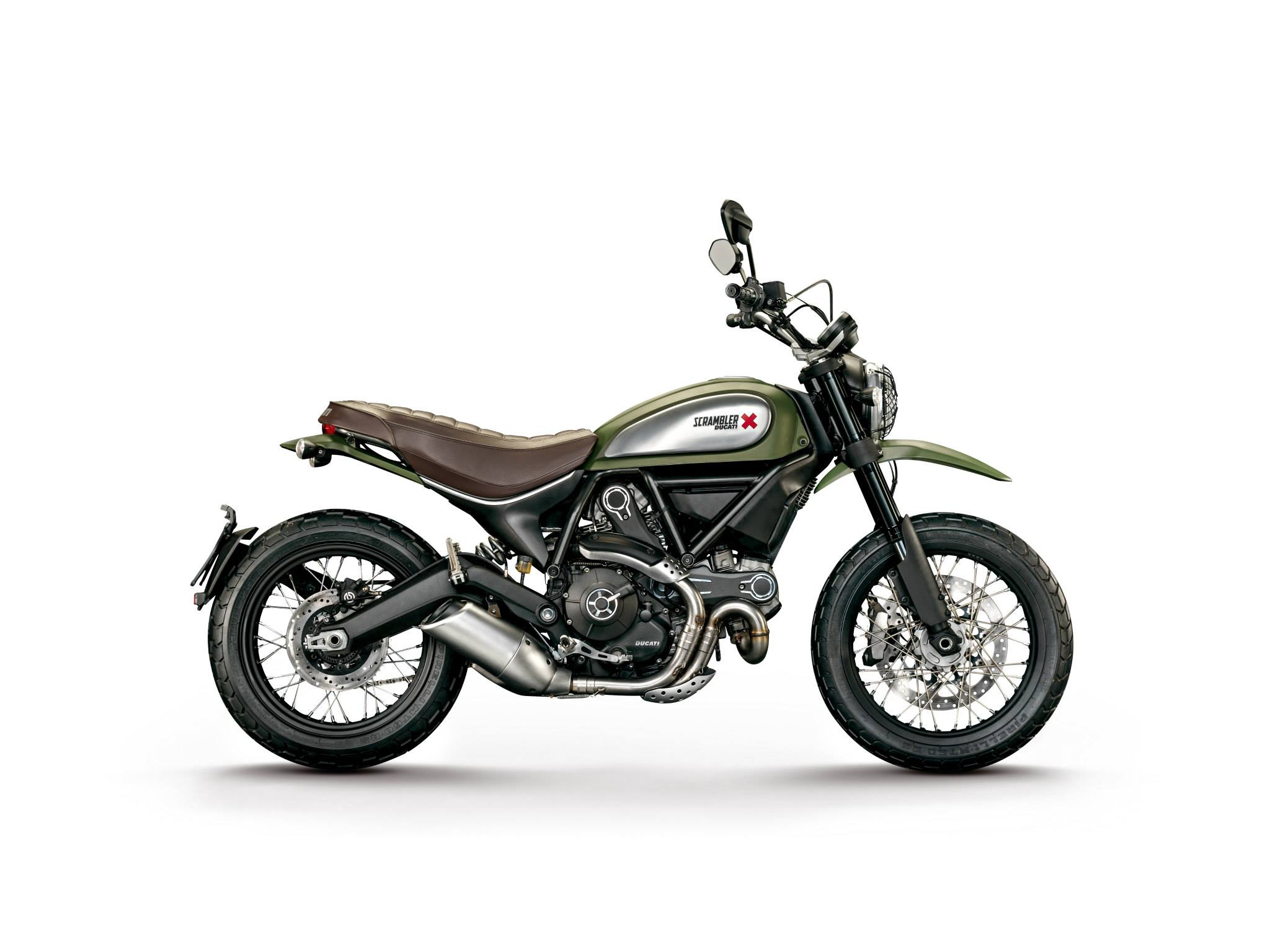 Ducati Scrambler Motorcycle and scooter rentals in Madrid (Spain)