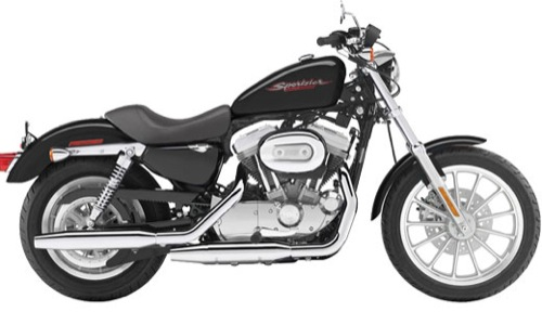 Harley-Davidson Sportster 883 Motorcycle and scooter rentals in Barcelona (Spain)