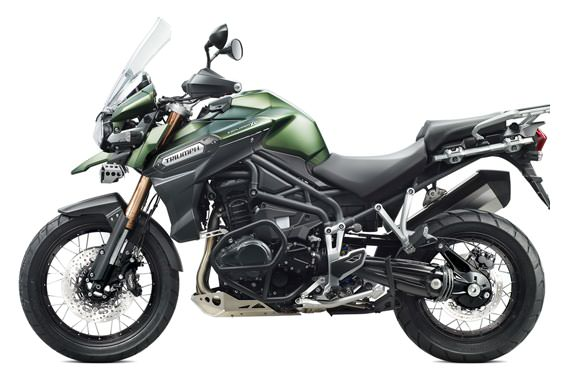 Triumph Explorer Motorcycle and scooter rentals in Madrid (Spain)