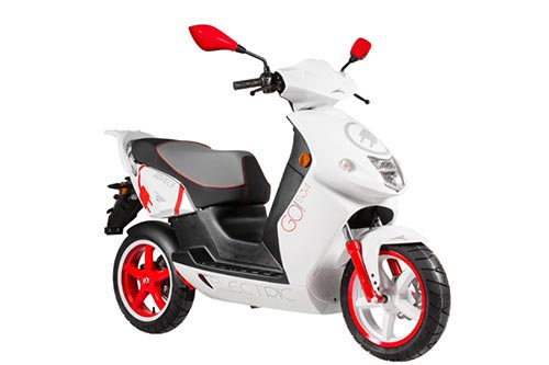 Govecs GO! S3.4 Motorcycle and scooter rentals in Barcelona (Spain)