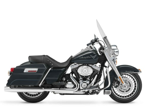 Harley-Davidson Roadking Classic FLHR  Motorcycle and scooter rentals in Madrid (Spain)