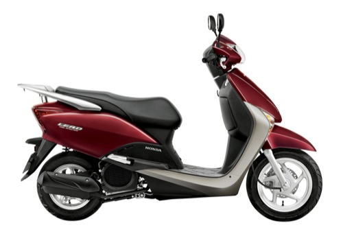 Honda Lead 110 Motorcycle and scooter rentals in Barcelona (Spain)