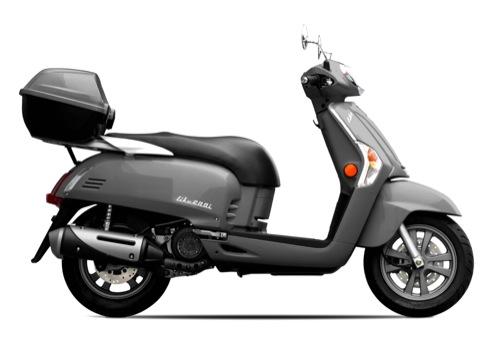 Kymco Like 50 Alquiler de motos y scooters en Tenerife (España - Canarias)