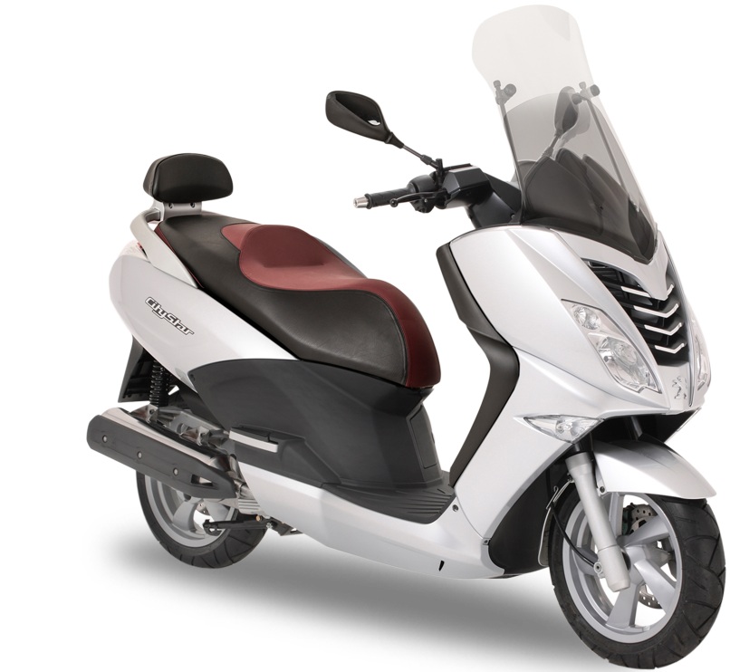Peugeot Citystar 125 Motorcycle and scooter rentals in Madrid (Spain)