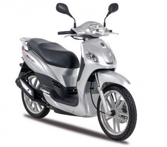 SYM Symphony 50 Motorcycle and scooter rentals in Barcelona (Spain)