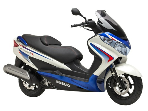 Suzuki Burgman 125 Motorrad- und Scooterverleih in Tenerife (Spanien - Kanarische Inseln)