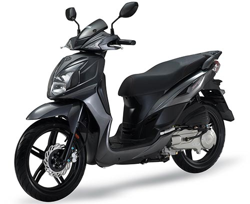SYM Symphony 150 Motorcycle and scooter rentals in Roma (Italy)