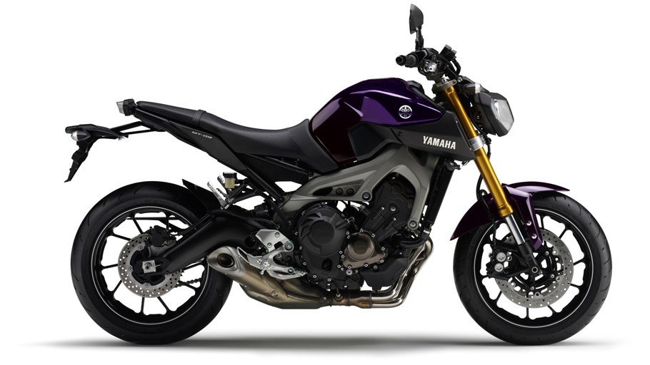 Yamaha MT-09 Motorcycle and scooter rentals in Málaga (Spain)