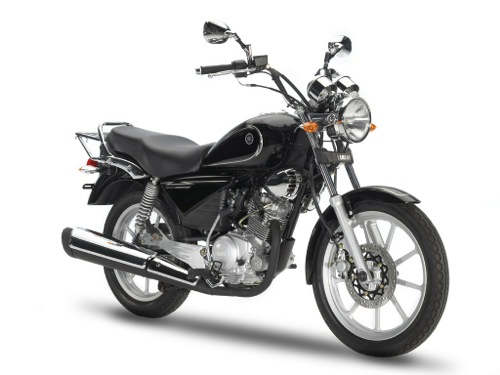 Yamaha YBR Classic 125 Motorcycle and scooter rentals in Madrid (Spain)