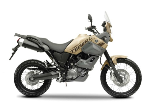 Yamaha Tenere 660 XTZ Motorcycle and scooter rentals in Barcelona (Spain)