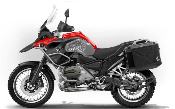 BMW R 1200 GS ADV 2014 Motorcycle and scooter rentals in Madrid (Spain)