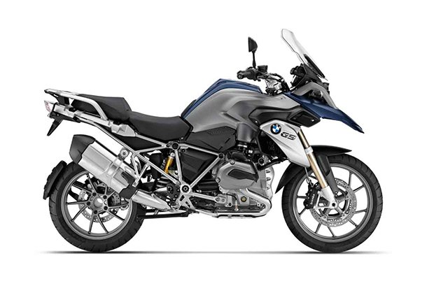 BMW R1200 GS Motorcycle and scooter rentals in Madrid (Spain)