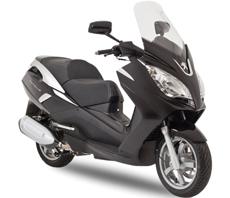 Peugeot Satelis 300 Motorcycle and scooter rentals in Barcelona (Spain)