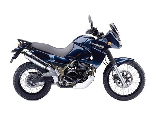 Kawasaki KLE 500 Alquiler de motos y scooters en Lanzarote (España - Canarias)