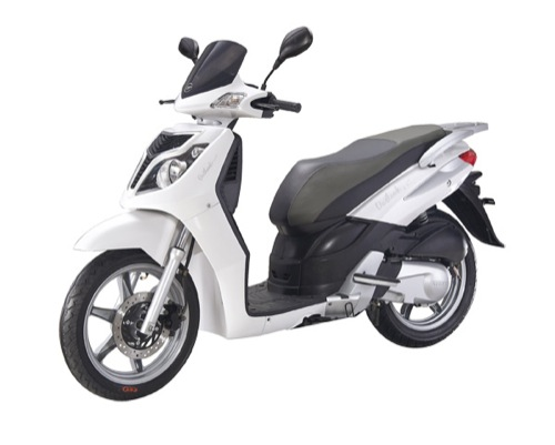Keeway Outlook 125 Motorcycle and scooter rentals in Madrid (Spain)
