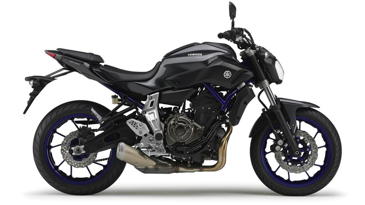 Yamaha MT-07 Motorcycle and scooter rentals in Barcelona (Spain)