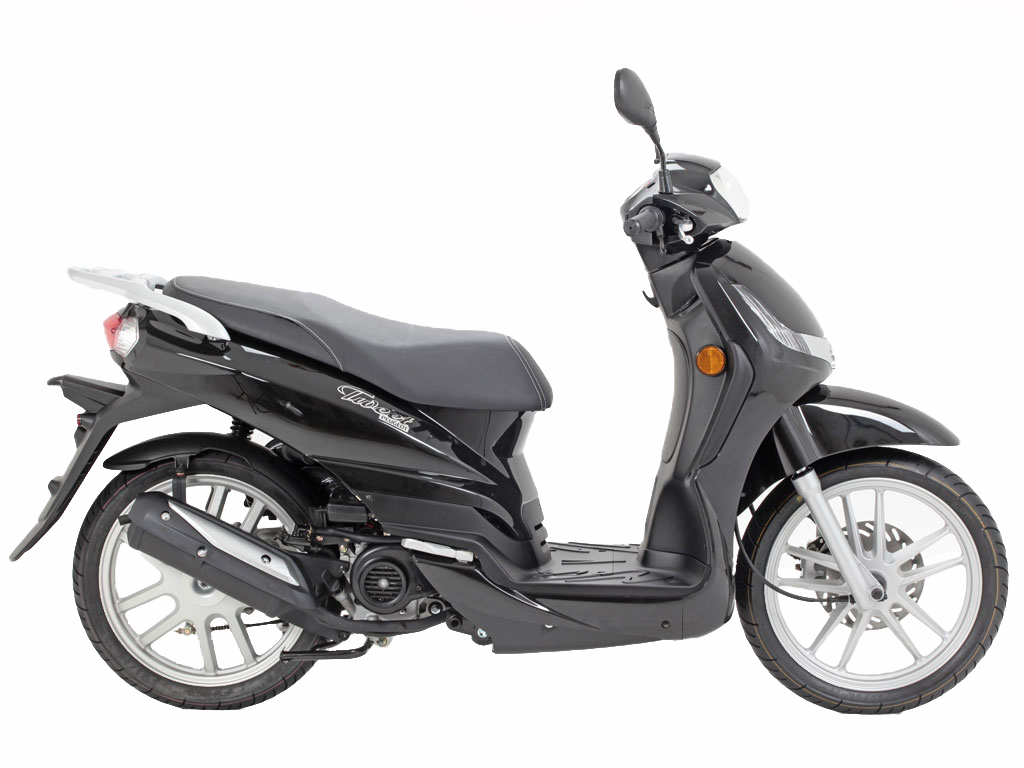 Peugeot Tweet 125 Motorcycle and scooter rentals in Madrid (Spain)