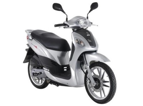 SYM Symphony 125 Motorcycle and scooter rentals in Barcelona (Spain)