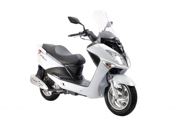 SYM Joyride 125 Motorcycle and scooter rentals in Barcelona (Spain)