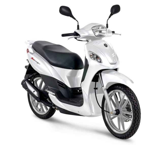 SYM Symphony 125 S Motorcycle and scooter rentals in Barcelona (Spain)