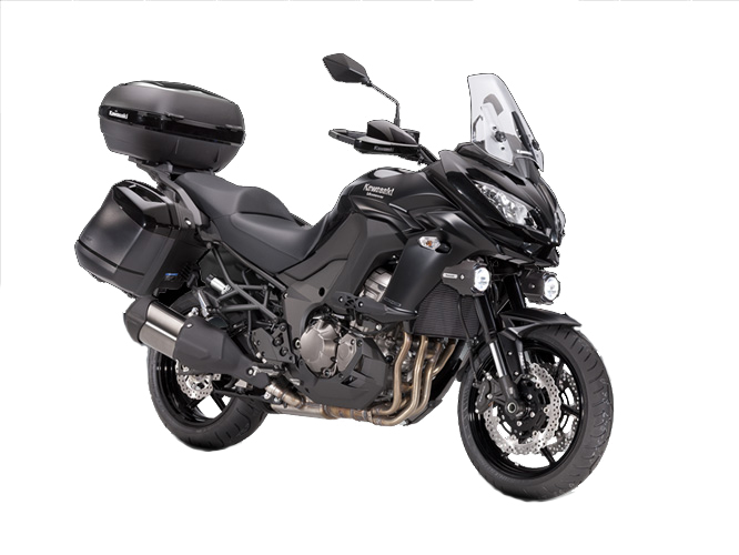 Kawasaki Versys 1000 Grand Tourer Motorcycle and scooter rentals in Barcelona (Spain)