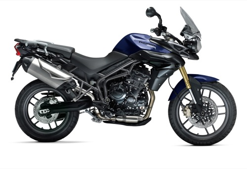 Triumph Tiger 800 XC Motorcycle and scooter rentals in Madrid (Spain)