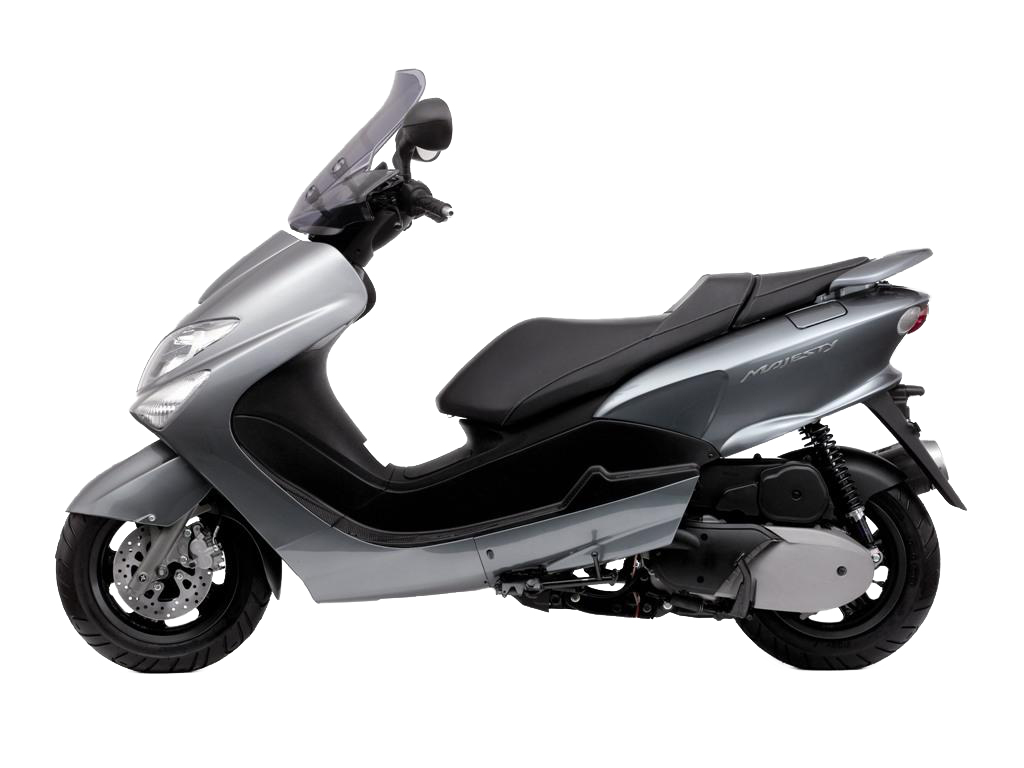 Yamaha Majesty 125 Motorcycle and scooter rentals in Málaga (Spain)