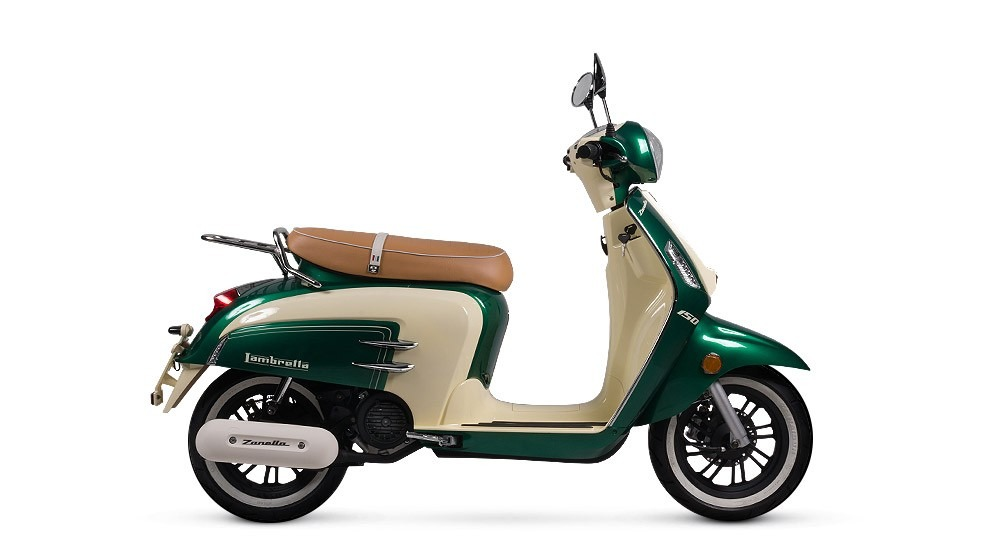 Zanella Lambretta Mod 150 Motorcycle and scooter rentals in Buenos Aires (Argentina)